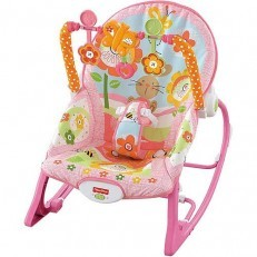 Fisher Price Infant to Toddler Rocker Pink Bunny