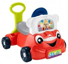 Fisher Price Laugh & Learn 3-in-1 Smart Car ride on walker