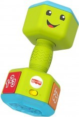 Fisher Price Laugh & Learn Countin Reps Dumbbell