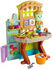 Fisher Price Laugh & Learn Grow-the-Fun Garden to Kitchen