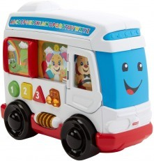 Fisher Price Laugh & Learn Learn Around Town Bus