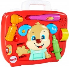 Fisher Price Laugh & Learn Puppy's Check up medical doctor kit