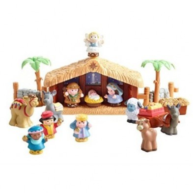 Fisher Price Little People A Deluxe Christmas Story nativity