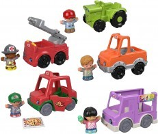 Fisher Price Little People Around the Neighborhood Vehicle Pack