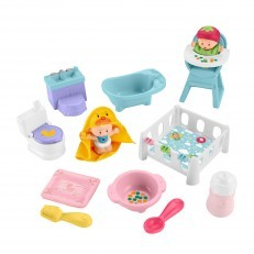 Fisher Price Little People Babies Love & Care Gift Set