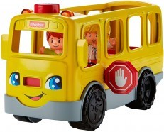 Fisher Price Little People Sit with Me School Bus Vehicle