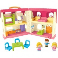 Fisher Price Little People Surprise & Sounds Home +FREE Family
