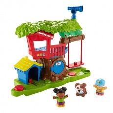 Fisher Price Little People Swing & Share Treehouse Playset