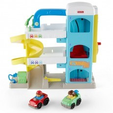 Fisher Price Little People the Helpful Neighbor's Garage