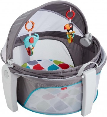 Fisher Price On the Go Baby Dome - Color Climbers + FREE Rattle