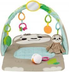 Fisher Price Ready to Hang Sensory Sloth Gym +FREE hanging Sloth