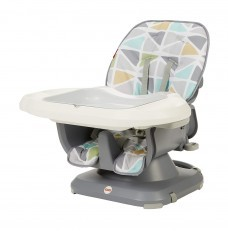 Fisher Price Spacesaver Booster High Chair (Grey Diamond)