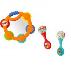 Fisher Price Tambourine & Maracas Gift Set