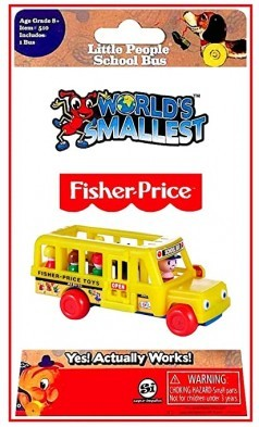 Fisher Price Worlds Smallest Little People School Bus
