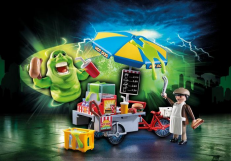 Playmobil Ghostbusters Slimer with Hot Dog Stand 9222
