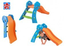 Grow n Up Qwikfold Fun Slide Orange