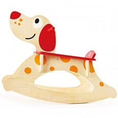 Hape Rocker Puppy Ride On wooden rocking puppy
