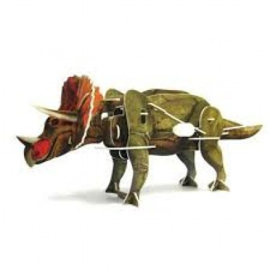 INOQ Moving 3D Kit Dinosaur Series - Triceratops