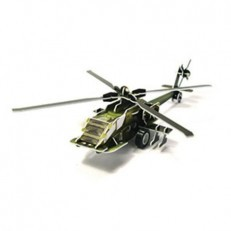 INOQ Moving 3D Kit Military Series - Helicopter AH-64