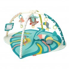 Infantino 4 in 1 Twist & Fold Activity Gym & Play Mat, Tropical