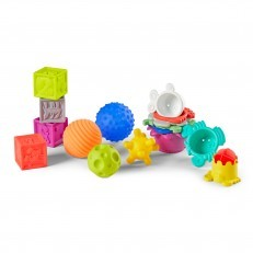 Infantino Balls, Blocks and Cups activity set (16 pieces)
