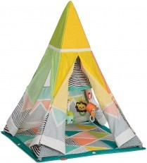Infantino Grow with Me Playtime Teepee Activity Gym Playmat