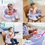 Infantino Music & Light 3-in-1 Discovery Seat & Booster Lavender