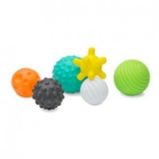 Infantino Sensory Textured Multi Ball Set (6)