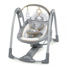 Ingenuity Boutique Swing n Go Portable Swing - Bella Teddy
