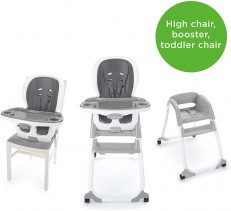 Ingenuity SmartClean Trio Elite 3 in 1 High Chair - Slate