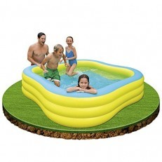 Intex Beach Wave Family Center Pool (yellow)