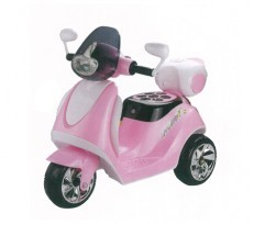 Battery Operated Motor Scooter JY20T8 (Pink/Blue)