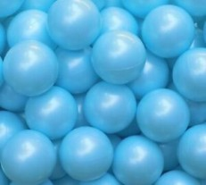 Joyful Color 100pcs Balls (Light Blue)