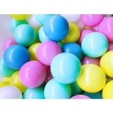 Joyful Color 100pcs Balls (Assorted Pastel)