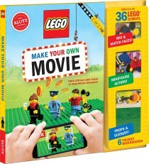 KLUTZ LEGO Make Your Own Movie Kit w/FREE Mini Figure