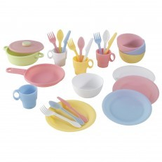 KidKraft 27pc Cookware Set Pastel