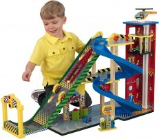 KidKraft Wooden Mega Ramp Racing Set