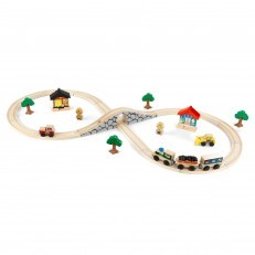 KidKraft Wooden Figure 8 Train Set