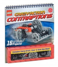 Klutz LEGO Crazy Action Contraptions Craft Kit +FREE Mini Figure