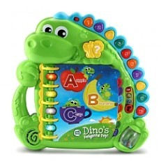 LeapFrog Dinos Delightful Day Alphabet Book (Green)