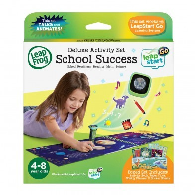 LeapFrog LeapStart Go Deluxe Activity Set - School Success