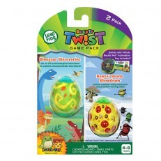 LeapFrog RockIt Twist Duo Game Dinosaur Discoveries & Banzai