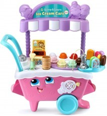 Leapfrog Scoop and Learn Ice Cream Cart Deluxe (Pink)