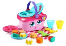 LeapFrog Shapes Sharing Picnic Basket (Pink) new design