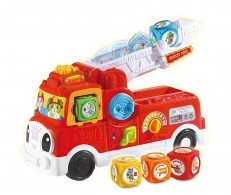 LeapFrog Tumbling Blocks Fire Engine Truck