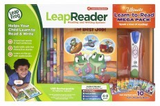Leapfrog LeapReader System Ultimate Learn to Read Mega Pack
