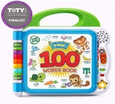 Leapfrog Learning Friends 100 Words Book (Green/Purple)