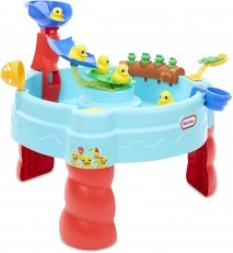 Little Tikes Little Baby Bum 5 Little Frogs Water Table + FREE..