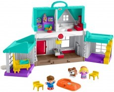 Fisher Price Little People Big Helpers Home (green)