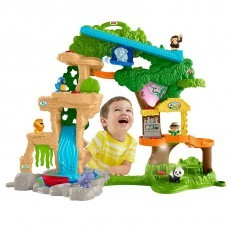 Fisher Price Little People Share & Care Safari Playset
